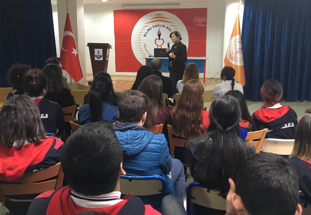 Prof. Dr Füsun Terzioğlu'nu Okulumuzda Ağırladık